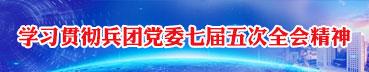 贯彻学习兵团党委七届五次会议精神