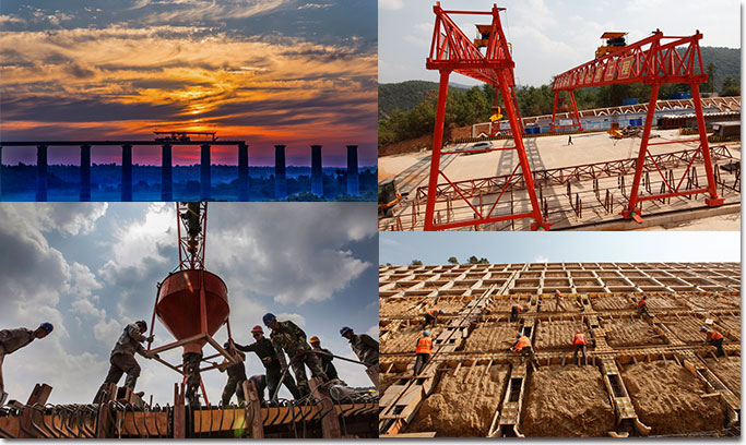 兵团建设者内地工程建设风采录