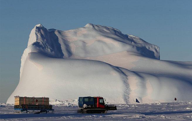 中国第35次南极科考完成第一阶段物资卸运