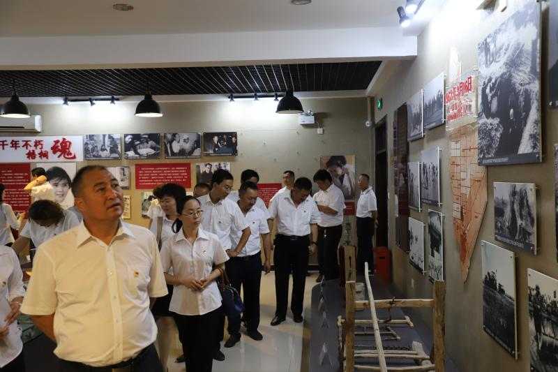 城华公司举行纪念建党98周年活动