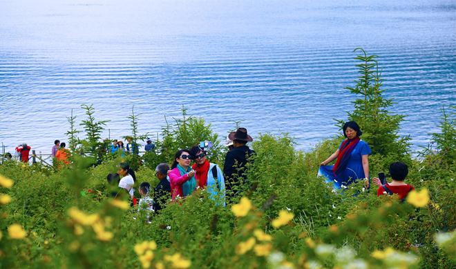 新疆是个好地方 | 炎炎夏日,天山天池景区喊你来避暑纳凉!