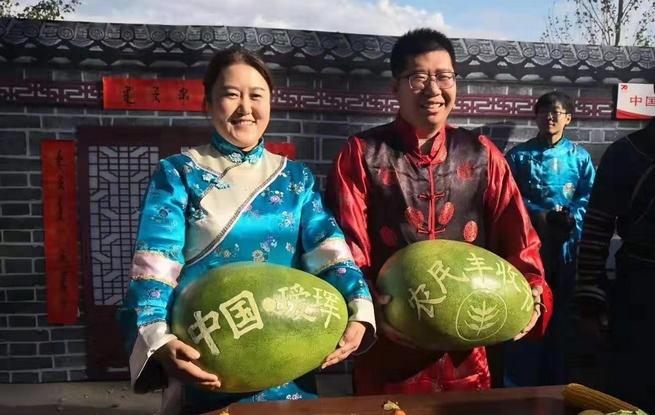 稻花香里说丰年 黑河市欢庆2019年中国农民丰收节
