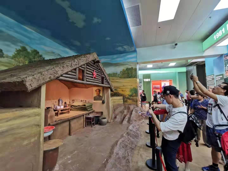 兵团元素亮相庆祝中华人民共和国成立70周年大型成就展