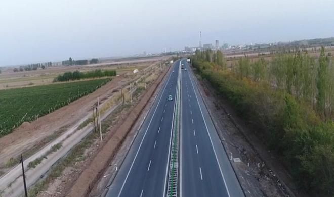 兵团最长的一级公路升级改造完成即将全线通车