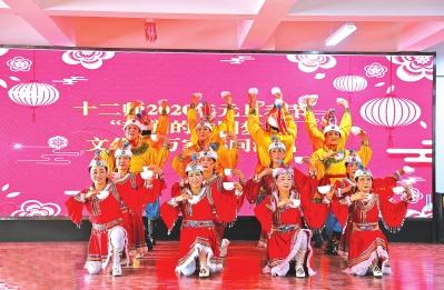 """十二师:""""我们的中国梦""""文化进万家活动走进团场"""