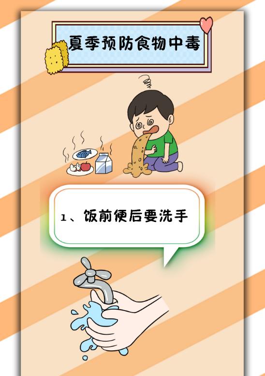 胡杨公益 | 夏季预防食物中毒