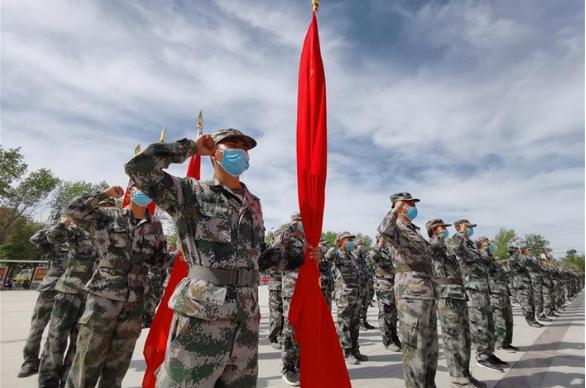 兵团不断加强一流民兵队伍建设提升维稳戍边能力