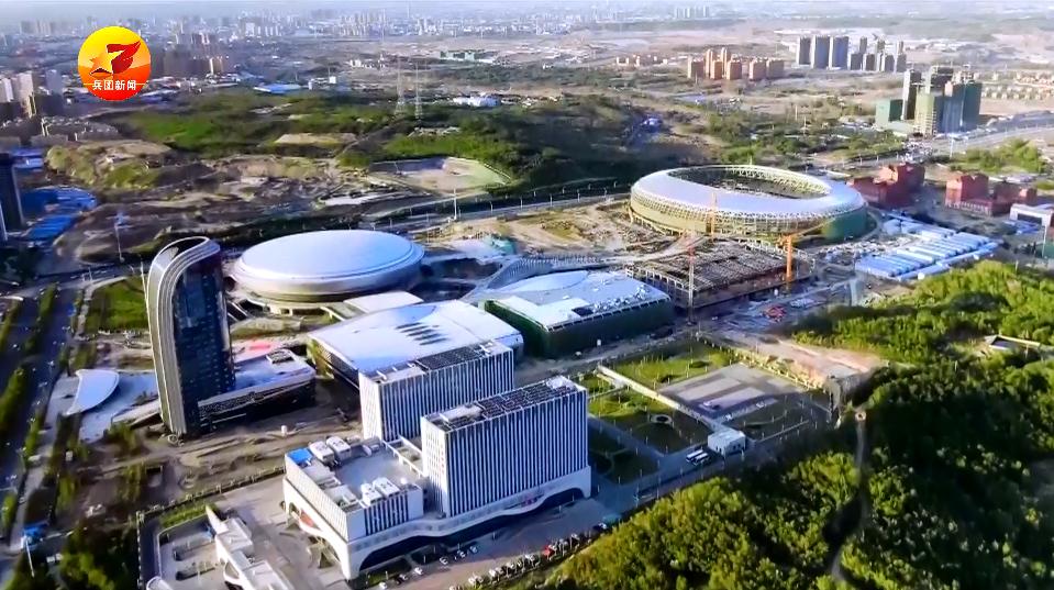 微视频 | 高大上!乌鲁木齐奥体中心体育馆亮相