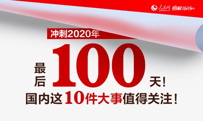 冲刺2020年最后100天!国内这10件大事值得关注