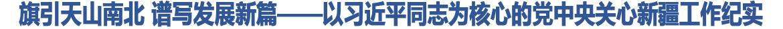 以习近平同志为核心的党中央关心新疆工作纪实