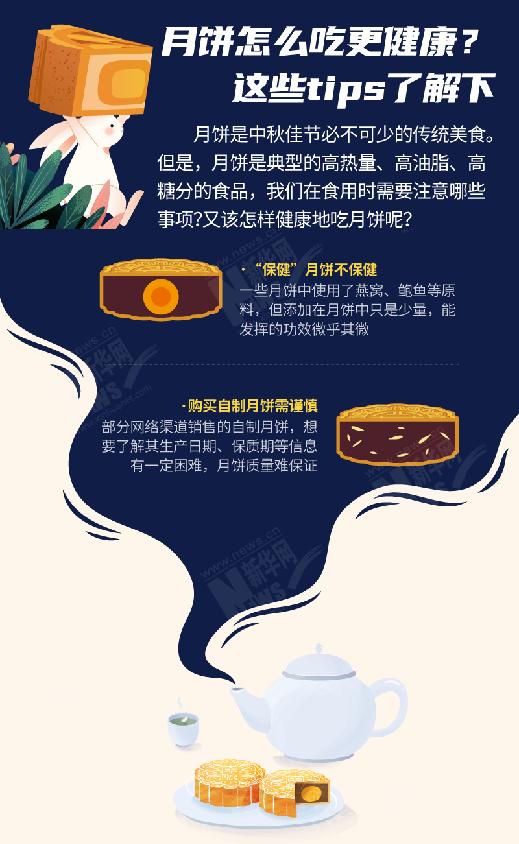 月饼怎么吃更健康?这些tips了解下