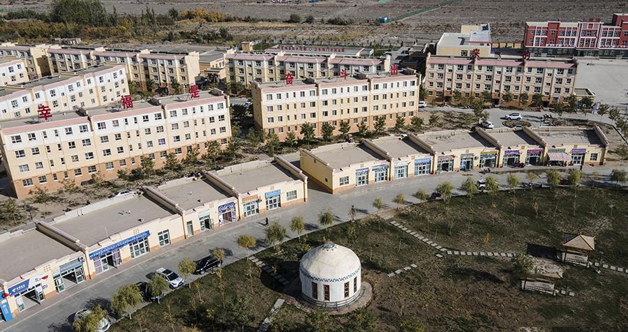 新疆阿克陶县:走出大山 搬进新家