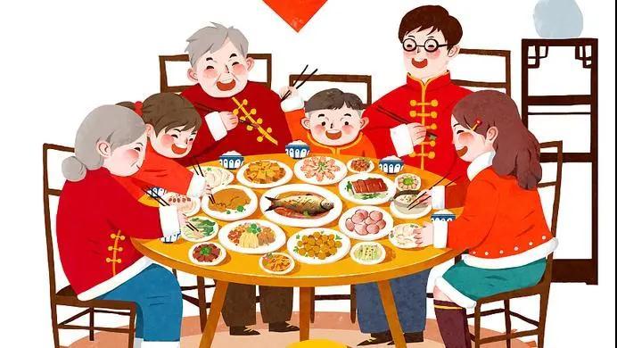 中国传统文化春节习俗之除夕