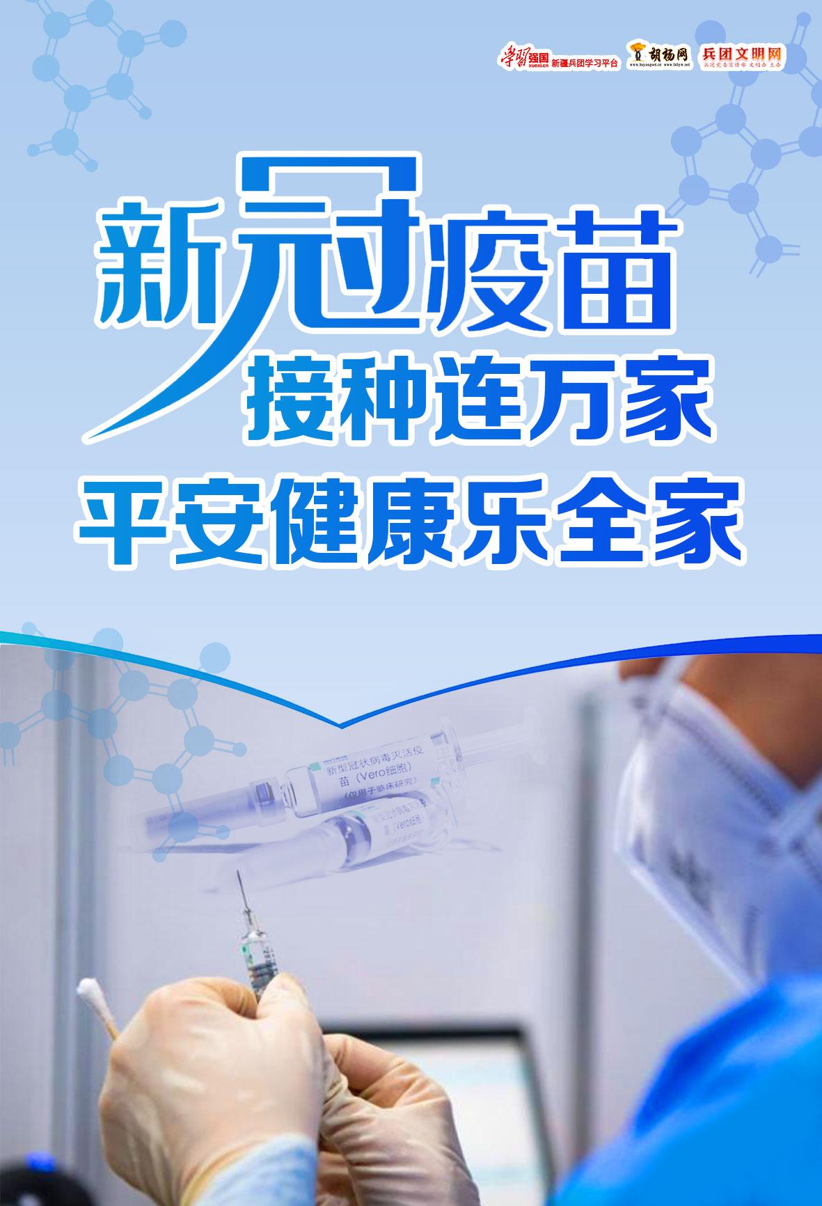 胡杨原创 新冠疫苗接种健康千万家