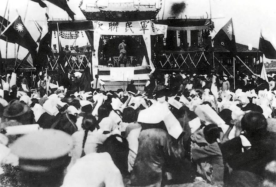 百个瞬间说百年|1926,誓师北伐